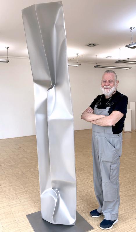 Ewerdt Hilgemann, Column, 2018, 250 x 25 x 25 cm, Foto: Stephan Geiger