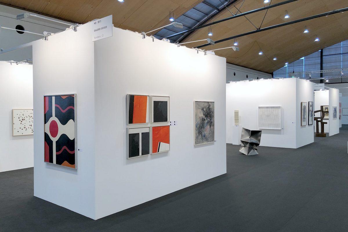 Galerie Geiger auf der Art Karlsruhe 2020