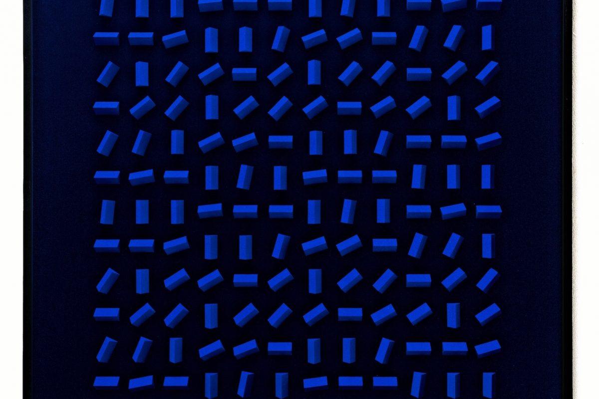Klaus Staudt, Bethany in Erinnerung, 2004, 70 x 70 x 5 cm