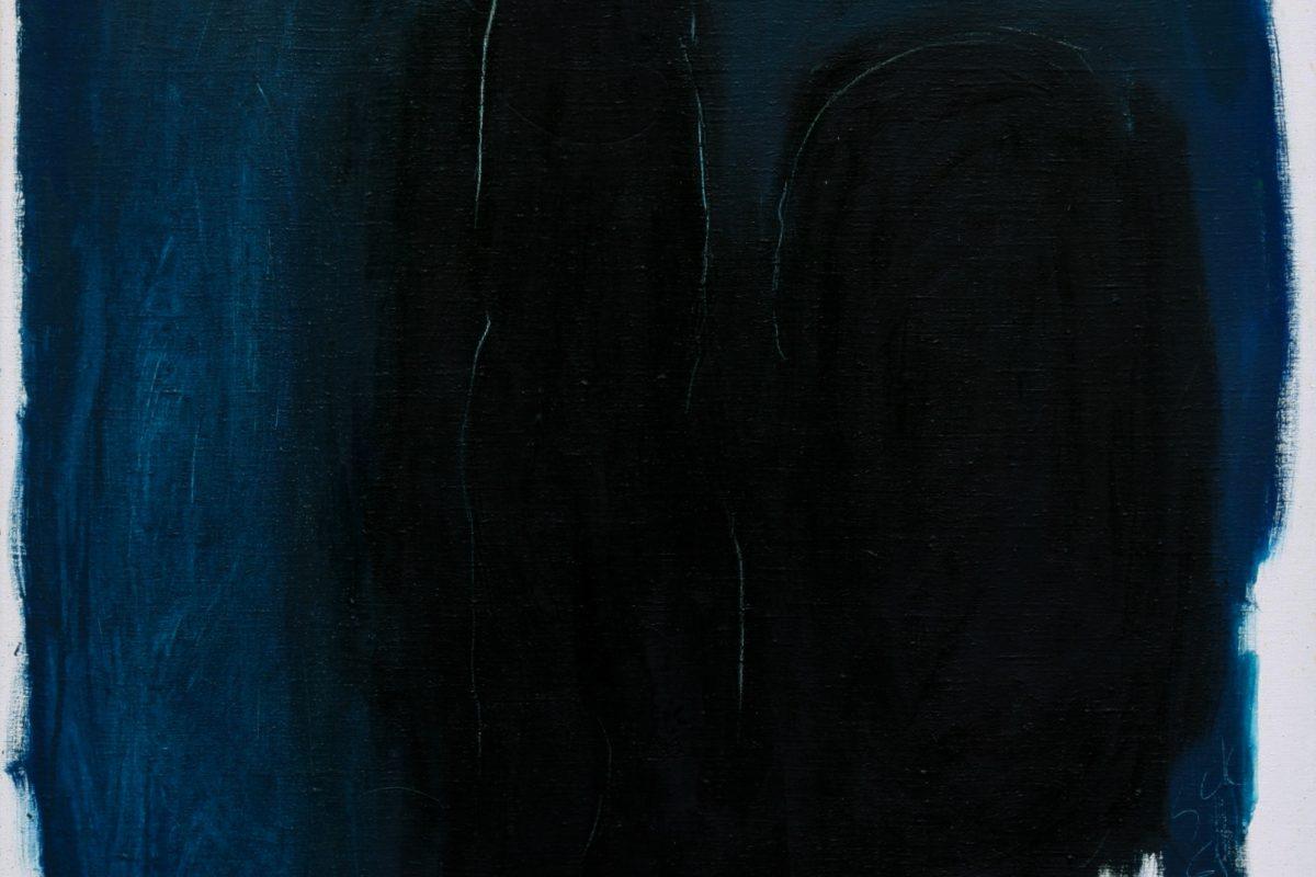 Günther C. Kirchberger, Isodoro, 1961, Öl auf Leinwand, 80 x 88,5 cm