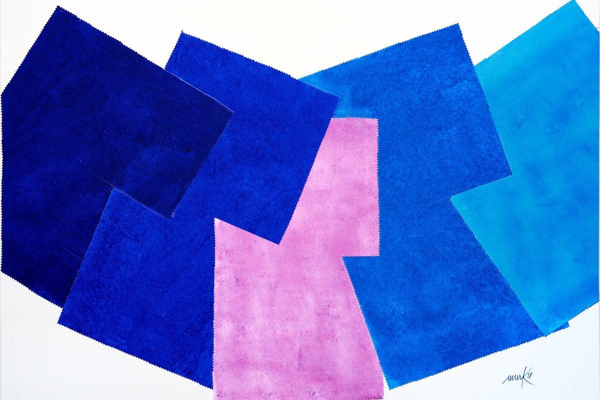 Heinz Mack, ohne Titel, 2018, 76 x 111,5 cm