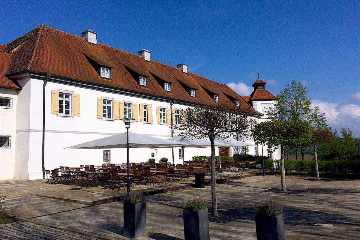 Schloss Filseck, Außenansicht des Ostflügels.