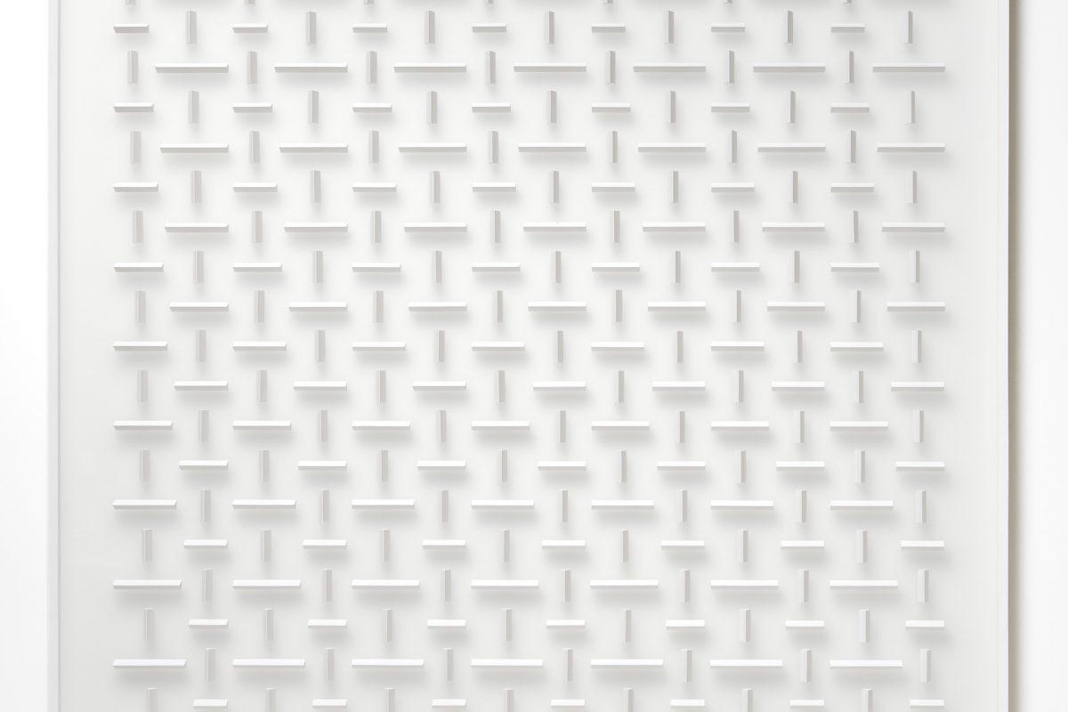 Klaus Staudt, übereinstimmend, 2017, 120 x 120 cm